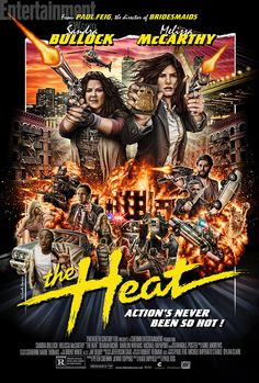 The Heat (2013) (by Mondo) -- Bullock + McCarthy = Brilliant! Still, kinda gross at times. Overall: HILARIOUS.