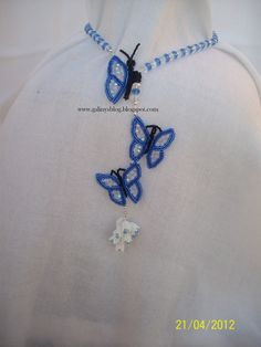 Сини пеперуди / Mavi kelebek