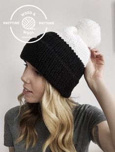 Intarsia Knitting, Knitting Charts, Loom Knitting, Knitting Patterns Free, Knit Patterns, Knit Crochet, Crochet Hats, Knit In The Round, Double Knitting