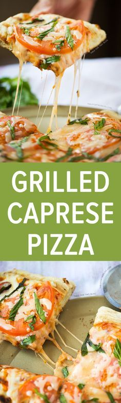A classic pizza topping is even more flavorful when you grill it! This grilled caprese pizza is easy to put together and will have you begging for more grilled pizza nights!