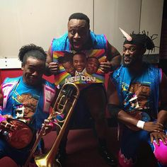 WWE Tag Team Champions The New Day.