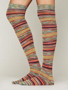 Free People Fantasy Stripe Sock