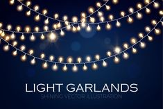 Image result for light garland