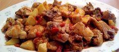 Pollo al chilindrón-http://unachispadesabor.blogspot.com/2016/07/pollo-al-chilindron.html- #UCDS #polloypavo