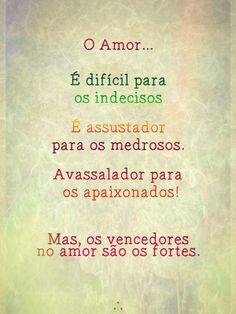 Ah, o amor...