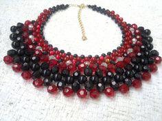 Maxi colar entrelaçado. #handmade #craft #biju