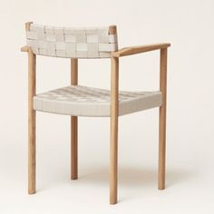 Form & Refine is a Danish design brand that praises materials, form and quality equally. Outdoor Chairs, Outdoor Furniture, Outdoor Decor, White Oak, Danish Design, Solid Oak, A Table, Design Elements, Scandinavian