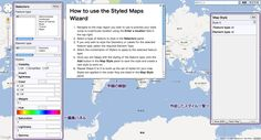 The Styled Map Wizard