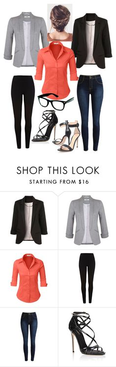 """""""Untitled #112"""" by alindsey2021 on Polyvore featuring Miss Selfridge, LE3NO, River Island, Dolce&Gabbana and Gianvito Rossi"""