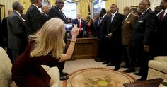 The internet wants to know WTH Kellyanne Conway is doing on the Oval Office couch - http://howto.hifow.com/the-internet-wants-to-know-wth-kellyanne-conway-is-doing-on-the-oval-office-couch/