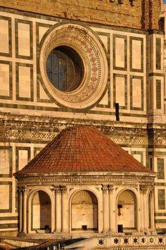 Tramonto sulla cupola di Santa Maria del Fiore, Firenze