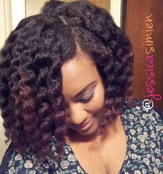 How To Achieve An Amazing Twist Out On Natural Hair