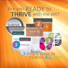 Easy as 123!! Are you ready to Thrive with me? #energy #weightmanagement #leanmuscle