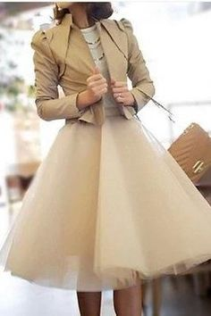 A Line TUTU Skirt