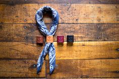 Woggle – bandana / neckerchief keeper – from Sweettrade