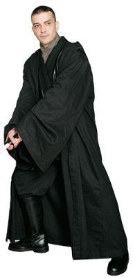 STAR WARS COSTUMES: : A Star Wars Sith / Jedi Robe ONLY - Black - Replica Star Wars Costume $63.99 Star Wars Fancy Dress, Luke Skywalker Jedi, Star Wars Halloween Costumes, Jedi Robe, Star Wars Celebration, Celebration Orlando, Jedi Costume, Star Wars Sith, Jedi Sith