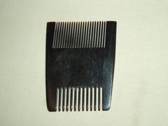 Vintage hand made cow's horn hair bilateral comb primitive two sides rare small | eBay