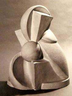 MONDOBLOGO: women of the bauhaus - Ilse Fehling Abstract sculpture 1922