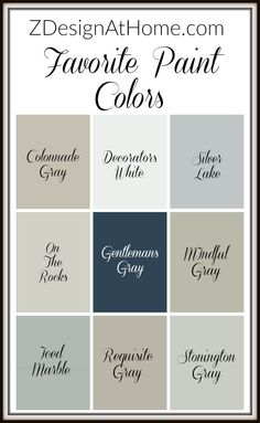 zdesign at home best paint colors the best grays Home Painting