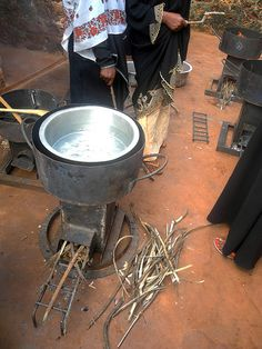 Sazani Associates trials found that the rocket stoves use 40% less wood than the traditional (open) 3-stone fire stove.