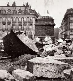 1871 – La Colonne Vendome abattue