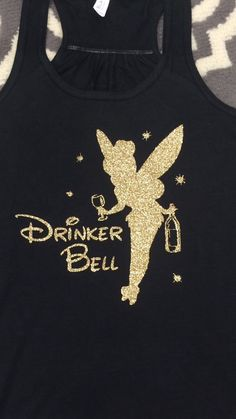 Tinkerbell Drinkerbell Epcot Wine Festival Disney Shirt