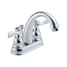 Upstairs Bathrooms B2596LF Windemere Two Handle Centerset Lavatory Faucet : Bath Products : Delta Faucet