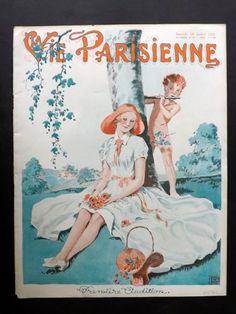 Georges Léonnec (1881 – 1940). La Vie Parisienne, 18 Juillet 1931. [Pinned 9-viii-2015]