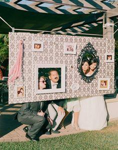 Photo Op! love it and need it! --WeddingChannel Galleries: Kelly & Paul's Wedding