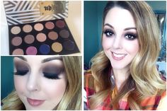 Chocolate Smokey Eyes with Urban Decay Gwen Stefani Palette