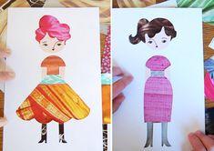DIY: Fashion Paper Dolls