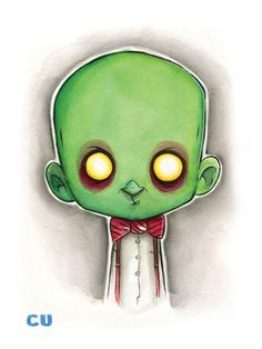 Terrifyingly Cute Bad Guys by Christopher Uminga - Drax the Destroyer