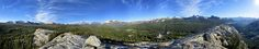 https://flic.kr/p/SKEWTZ | Lembert Dome Panorama 2 - Yosemite | View from right to left of Tuolumne Meadows, Fairview Dome, Cathedral Peak, Echo peaks, Unicorn peak, Cockscomb, Kitty Dome and Puppy Dome (foreground), Johnson peak, Potter Point , Lyell Canyon, Mammoth Peak, Mt Gibbs (reddish), Mono Pass, Mt Dana, Tioga Pass, White Mtn, Dog Dome (foreground), and Ragged Peak. Tuolumne Meadows, Yosemite National Park, Sierra Nevada Mountains, California.