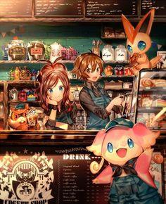 Join the Pokemon fan Pokemon Manga, Pokemon Mew, Pokemon Comics, Pokemon Fan Art, Touko Pokemon, Pokemon Ships, Black Pokemon, Otaku, Film Manga