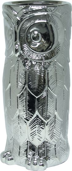 The Hoot Umbrella Stand - Silver from Urban Barn is a unique home décor item. Urban Barn carries a variety of New Accents and other  products furnishings.