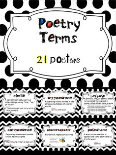 Pin on Poetry and Poetic Devices