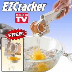 #3. An automatic egg cracker. Are you kidding me?!