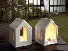 Lantern & Window in Gloss White Porcelain