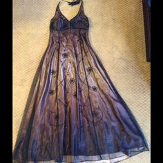 """Spotted while shopping on Poshmark: """"Formal gown""""! #poshmark #fashion #shopping #style #Linda Burnell #Dresses & Skirts"""