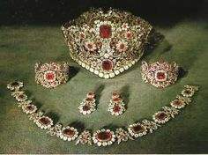 The former Duke of Bavaria, now King of Bavarie Maximillian I, commemorated the fact by commissioning a set of crown jewels for use by Bavarian monarchs.