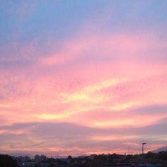 dusk, skyline, Marbella