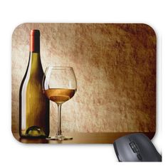Wine Bottle Mousepad from Wine Branch