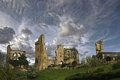 Sheriff Hutton Castle, North Yorkshire. The castle has strong connections with Richard III, who acquired it in 1471 (while still Duke of Gloucester). In 1484 he chose Sheriff Hutton, along with Sandal, to be the headquarters of his new Council of the North. Photograph by Shaun Conway.