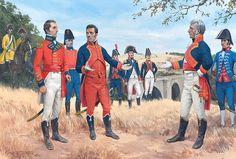 Meeting of Wellesley and Cuesta, 11 july 1809