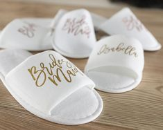 Bride Slippers, Bridal Slippers, Wedding Slippers (Personalized) for Getting Ready on Wedding Day; Bridesmaid Hotel Slippers for Spa Weekend Bridesmaid Slippers, Wedding Slippers, Bridesmaid Proposal Gifts, Be My Bridesmaid, Bridesmaids, Spa Bachelorette Parties, Party Favors For Adults, Spa Weekend, Girls Getaway