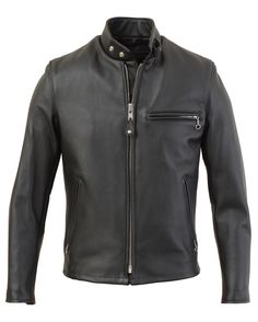 641 - Single Rider Steerhide Leather Motorcycle Jacket