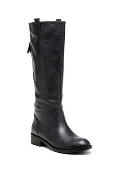 Black boots - back zip. Hautelook