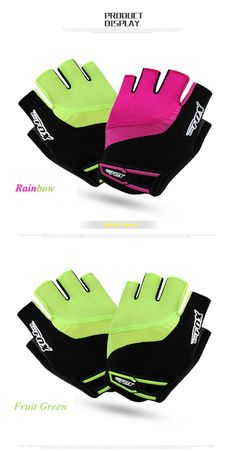 Anmeilu Road MTB Bike Gloves Half Finger Breathable Summer Style Bicycle  Cycling Gloves Gel Pad Men Women Luvas Para Ciclismo  52f8f8acf