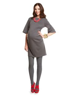 FASHION DUES & DUEN'TS - Modern Maternity Style Category | Like the gray and red combo. Feel fresh.