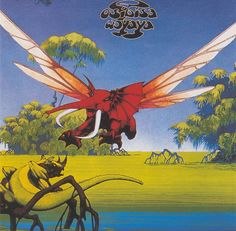 I would spend hours copying  Roger Dean stuff onto my folders and books at school. Maybe I shouldn't have...Maybe i should have been working...?